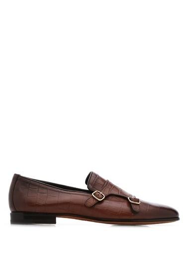 Santoni %100 Deri Klasik Ayakkabı Kahve